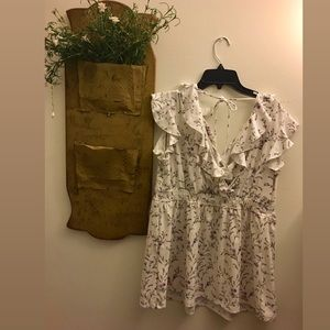 H&M Floral Maternity Shirt